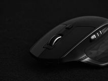 Ergonomic computer mouse Royalty Free Stock Photography