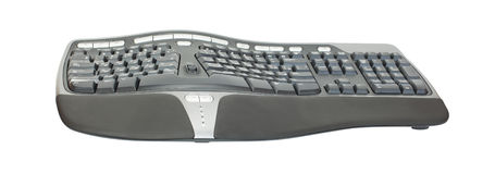 Ergonomic keyboard Stock Photography