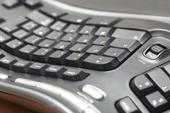 Ergonomic keyboard Royalty Free Stock Photo