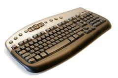 Ergonomisch draadloos computertoetsenbord royalty-vrije stock afbeelding
