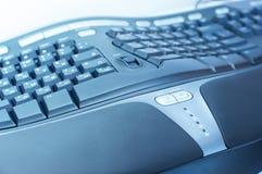 ergonomiskt tangentbord fotografering för bildbyråer