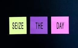 Ergreifen Sie den Tag stockfotos