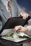 Ergreifengeld Lizenzfreies Stockfoto