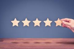 Erhöhen Sie Bewertung Lizenzfreie Stockfotos