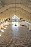 Erhöhte Ansicht des Errichtens von einem Hall, Radio-Kootwijk, die Niederlande stockbilder