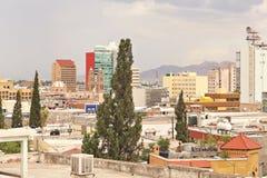 Erhöhte Ansicht von Chihuahua, Mexiko Lizenzfreie Stockfotos