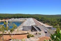 Erhöhte Ansicht von Serpentine Dam Lizenzfreies Stockbild