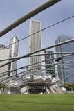Erhöhte Arena im Freien in Chicago, USA Lizenzfreie Stockfotografie