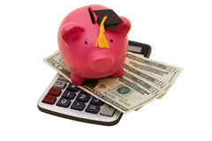 Erhöhte Ausbildungs-Kosten Lizenzfreies Stockbild