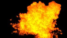 Erhöhung des Feuers stock footage