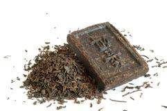 erh pu herbata zdjęcia royalty free