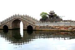 Erhai湖在大理市云南,瓷 免版税图库摄影