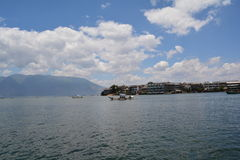 Erhai jezioro Fotografia Royalty Free