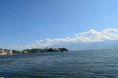 Erhai lake Royaltyfri Fotografi