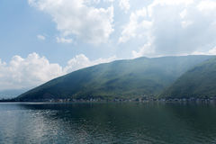 Erhai lake Cangshan mountain Stock Photography