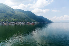 Erhai lake Cangshan mountain Royalty Free Stock Photos