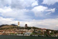 Erhai lake in dali city yunnan, china Royalty Free Stock Images