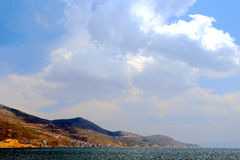 Erhai lake in dali city yunnan, china Stock Photo