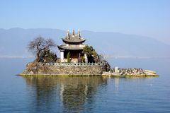 Erhai Lake, Dali, Yunnan province, China Royalty Free Stock Photos