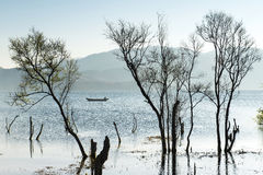 Erhai Lake in the morning Stock Photos