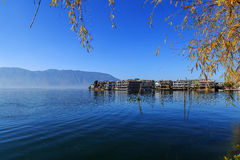 The erhai lake scenery Stock Photos