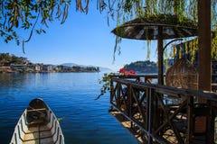 The erhai lake scenery Royalty Free Stock Photo