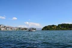 Erhai lake. In Yunnan, China Royalty Free Stock Photos