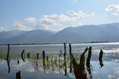 Erhai lake. In Yunnan, China Stock Photo