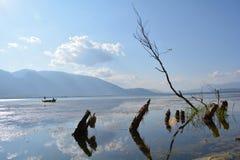 Erhai lake. In Yunnan, China Royalty Free Stock Image