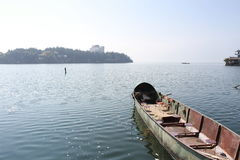 Erhai See in Dali Yunnan China, Bootfahrt Lizenzfreies Stockbild