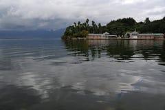 Erhai sjö i Yunnan, Kina Fotografering för Bildbyråer