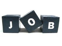 Erhalten eines neuen Jobs Stockbild