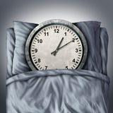 Erhalten genügenden Schlafes Stockfotos