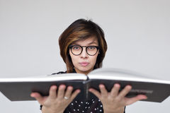 Erhalten Sie Bildungs- oder Hobbylesebücher Stockbild