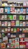 Erhalten Sie dünn: Diät und gesunde lebende Bücher Lizenzfreies Stockfoto