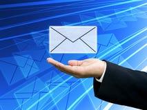 Erhalten Sie das Geschäftsnewsletter, Technologiekonzept Lizenzfreie Stockfotos