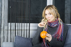 Erhalten Sie Gesundheit von den Früchten! Lizenzfreie Stockfotografie