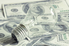Erhalten Sie Idee für verdienen Geld Stockfotos
