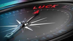 Erhalten Sie Lucky Concept Lizenzfreies Stockbild