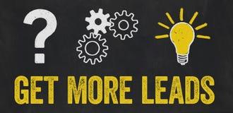 Erhalten Sie mehr Führungen vektor abbildung