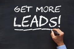 Erhalten Sie mehr Führungen lizenzfreies stockbild