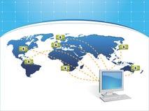 Erhalten Sie payd Online Lizenzfreie Stockfotografie