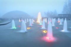 Erhaltender Brunnen Bloedel, Vancouver Stockbilder