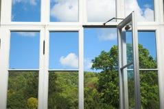 Erhaltendes Fenster Stockbild