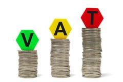 Erhebung von Steuern Stockbild