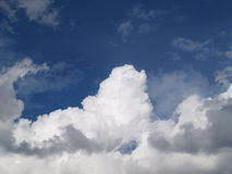 Erhebung-Wolken Lizenzfreie Stockfotos