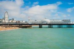 Erhellen Sie Pier Stockbilder