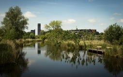 Erholung nahe Leeuwarden lizenzfreies stockbild