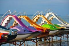 Erholung und Freizeit auf dem Wasser Stockbilder