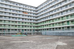 Erholungsgebiet von Nam Shan Public Housing Estate in Hong Kong Stockfoto